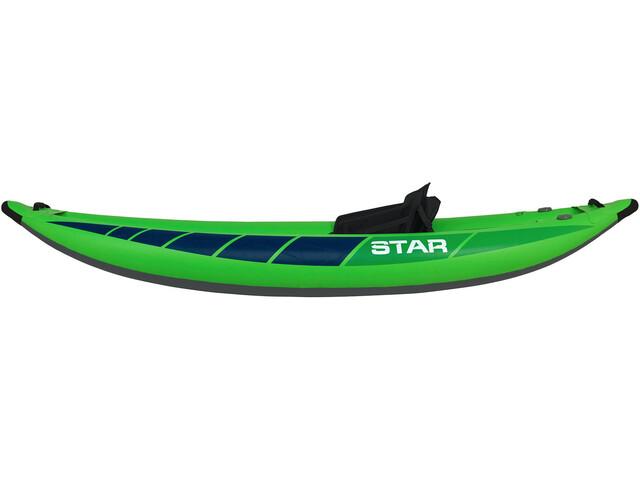 NRS STAR Raven I Inflatable Kayak lime